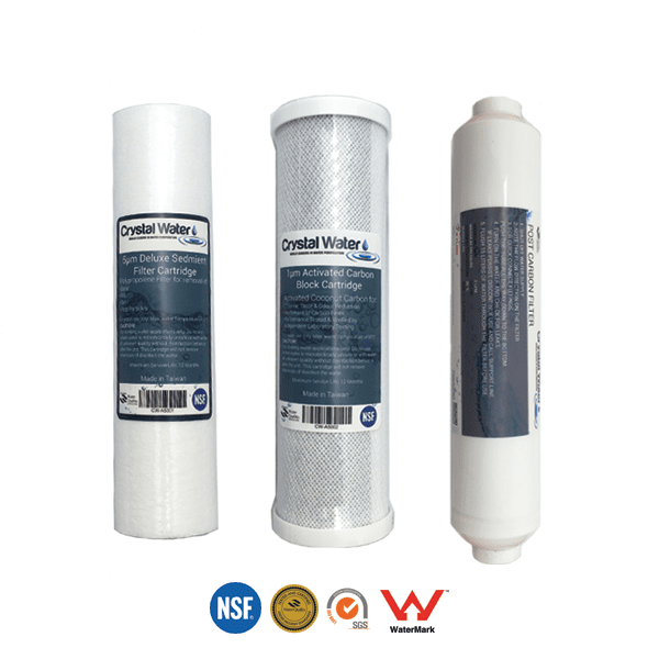 reverse osmosis filter replacement pack