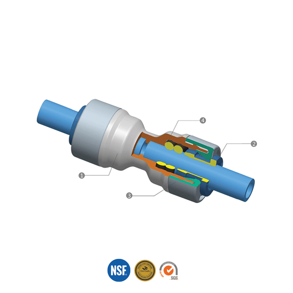 John Guest Style Push-Fit Fittings
